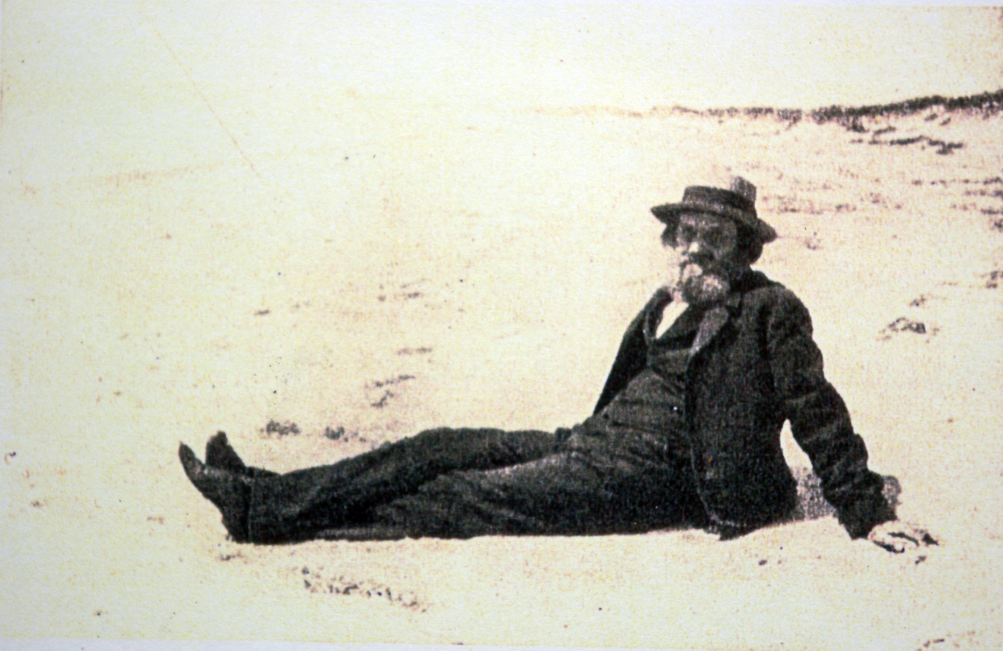 On his beloved Mantunuck beach