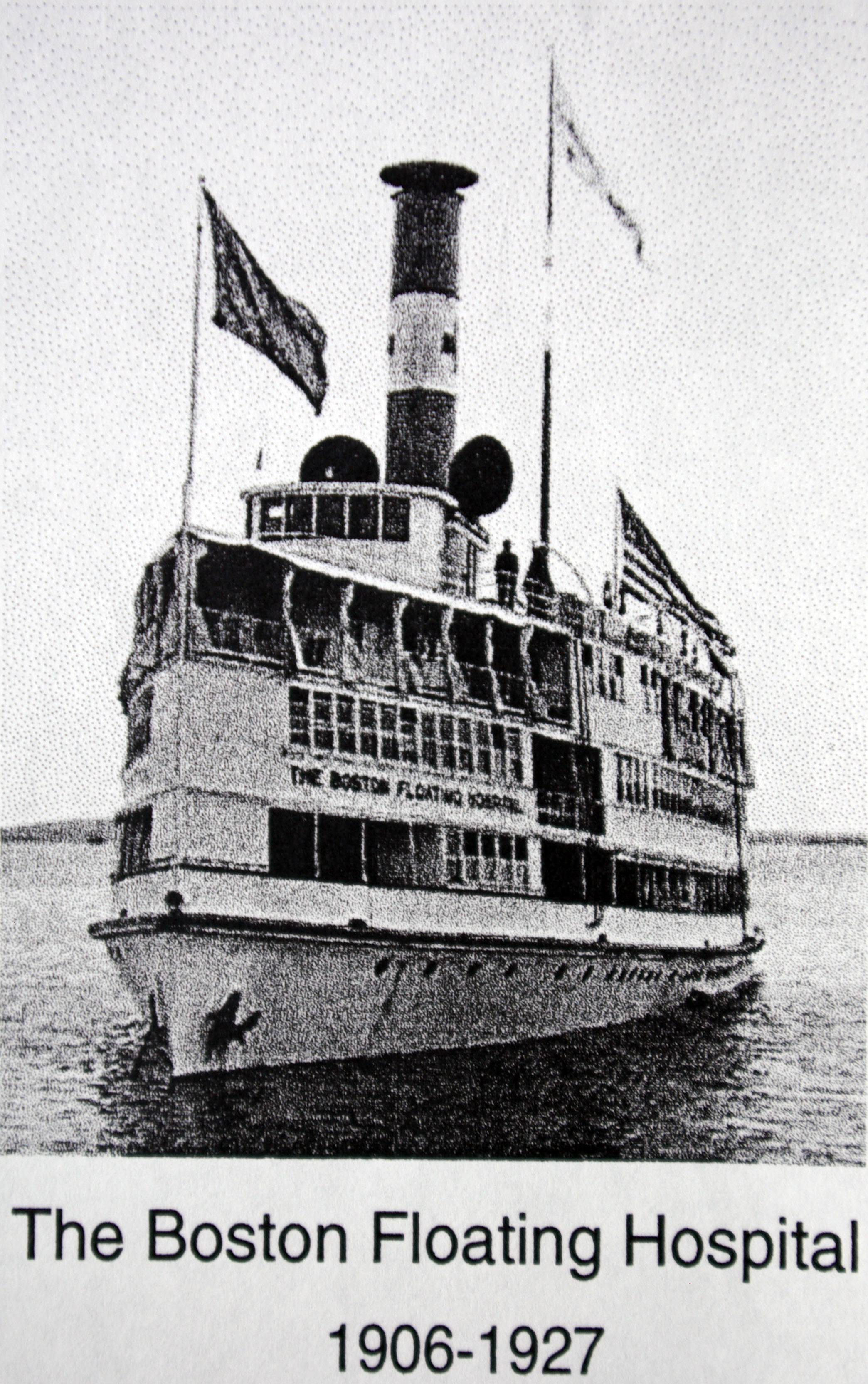 "The first Floating Hospital ""Clifford,"" 1897 - 1906"